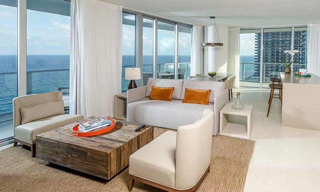 miami rental holywood beach departamento